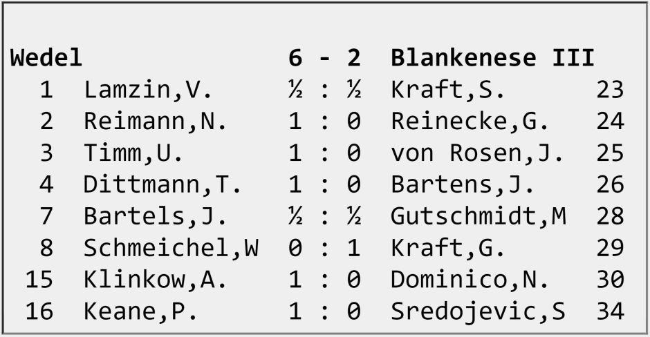 Wedel - Blankenese III