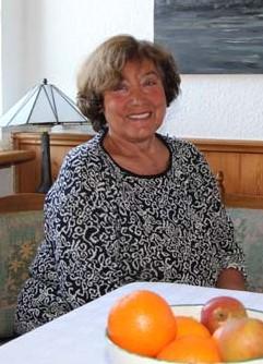 Gastgeberin Siegline Schröder